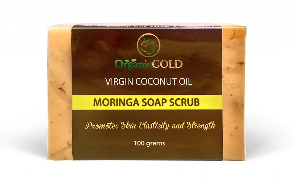 OrganicGOLD Morninga Soap Scrub