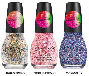 Pinata Blast Glitters SinfulColors 2015