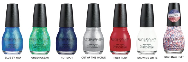 SinfulColors Having a blast collection 2015