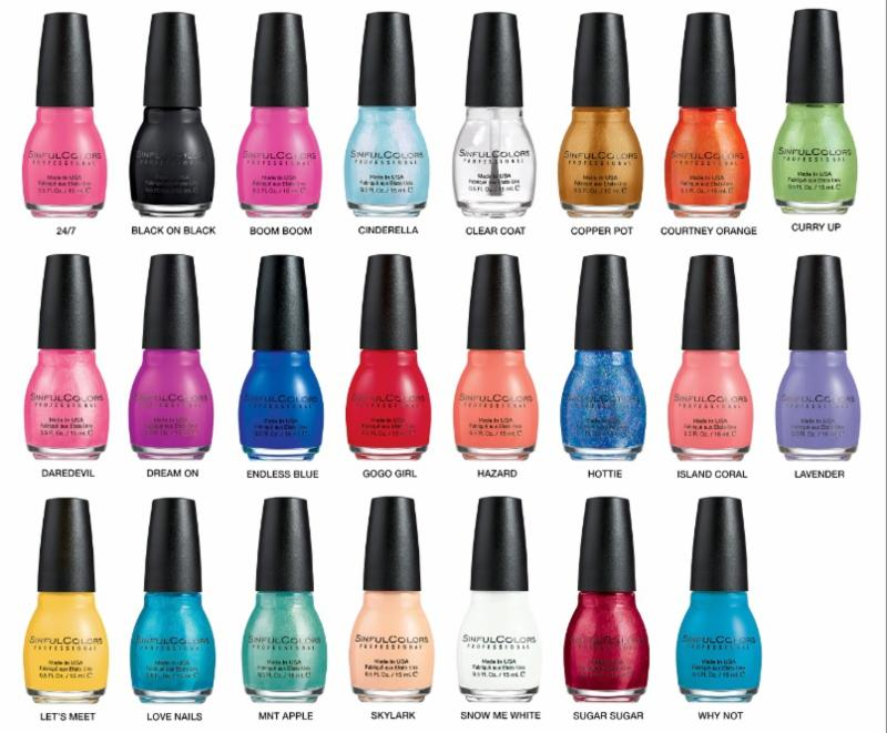 SinfulColors Summer 2015 Collection