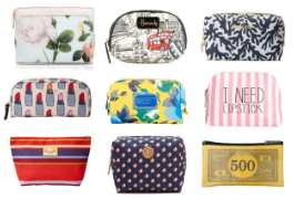 Adorable Makeup Bags: Be Ready for Any Event