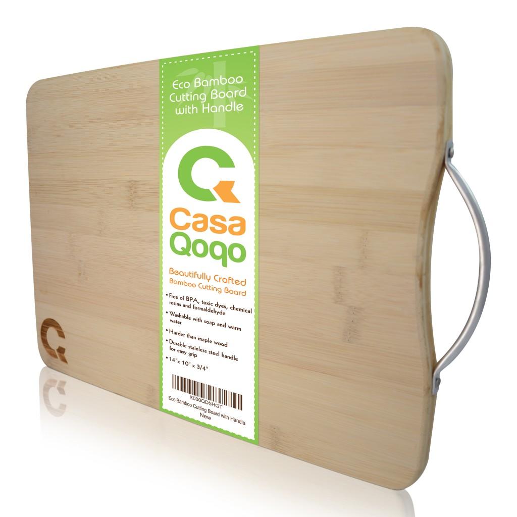 EverCreativeMind Bamboo Cutting Board