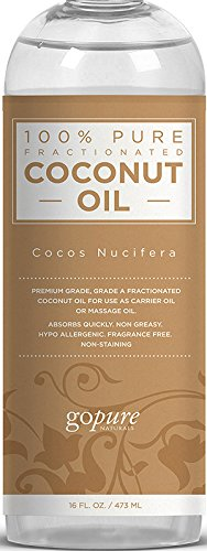 goPURE Fractionated Coconut Oil