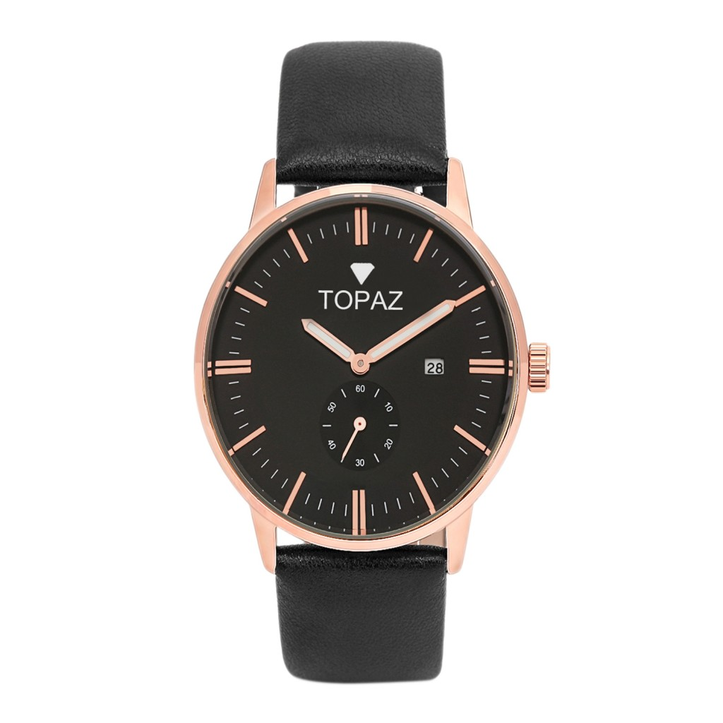 Classic rose gold watch by Topaz is just $35.95