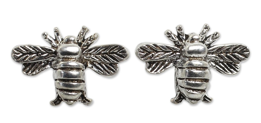 Happy Honeybee Earrings by Novica