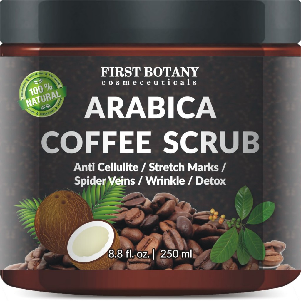 Arabica Coffee Scrub from First Botany Cosmeceuticals is only $14.50