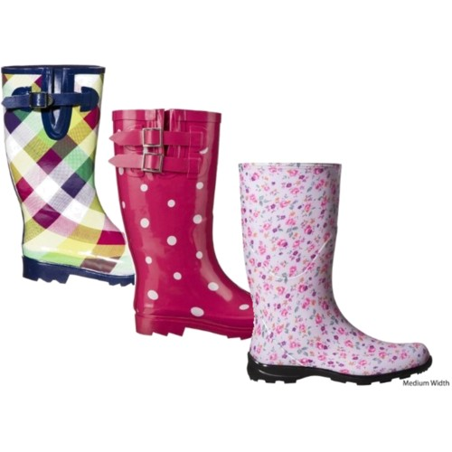 Rain, rain go away? Not with these adorable rain boots!