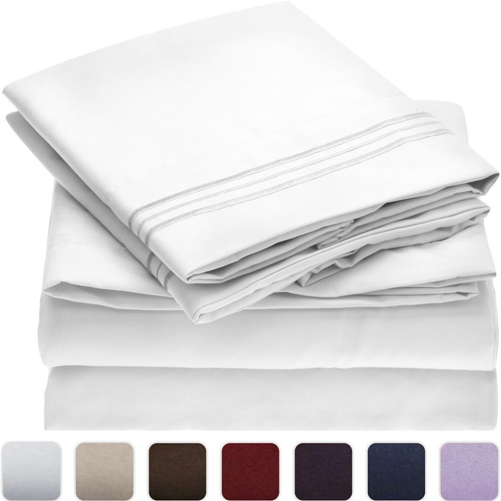 Mellanni luxury microfiber sheets