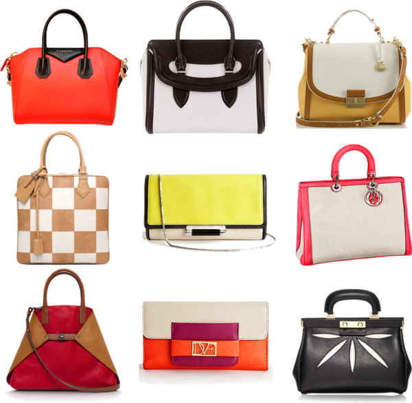 Bold bags for Spring 2013