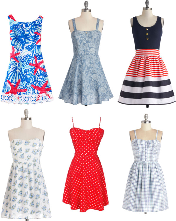 Sweet sundresses keep weekend wardrobes simple!