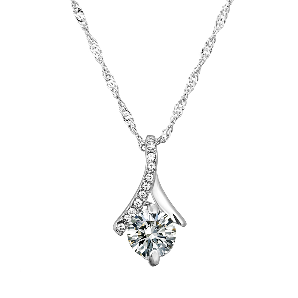 Afterglow Jewelry, stunning necklace with Crystal Swarovski Elements