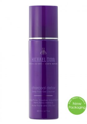 Charcoal Detox Facial Cleanser by Michael Todd