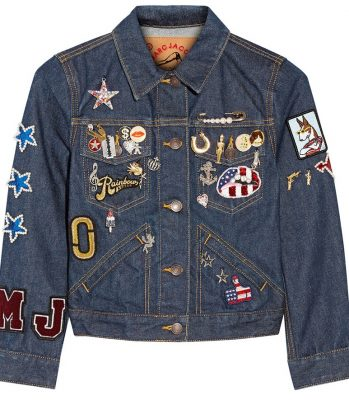 Mark Jacobs denim jacket for spring 2016