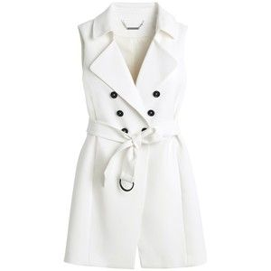 White doubled breasted dress, White House Black Market