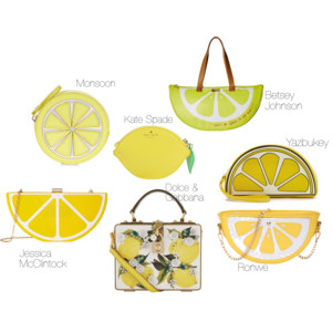 Lemon fashion trend for summer 2016 is oh-so-sweet!