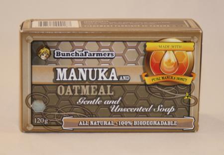Manuka Natural Oatmeal Soap