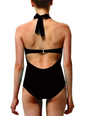 Glam one-piece swimsuit by Adolfo