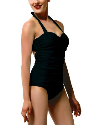 One-piece swimsuit by Adolfo