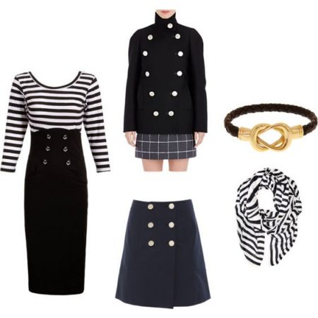 Sailor inspired naval looks for fall 2016