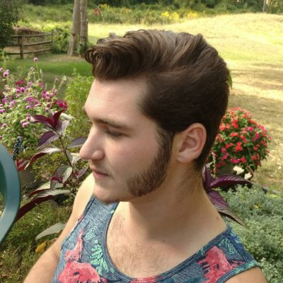 Matt uses #Suavecito men's pomade for a firm hold, but a soft feel