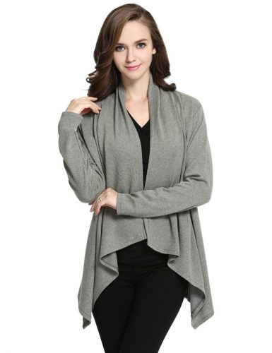 cardigan-sweater-in-jersey-knit-gray