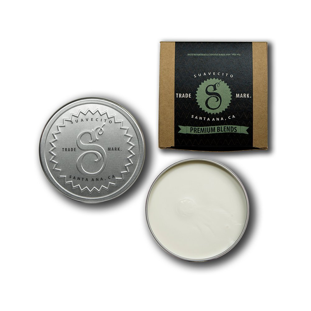 Suavecito men's pomade provides a firm hold, but a soft feel