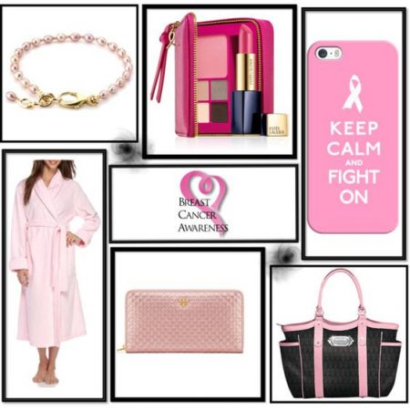 Pink power. Look pretty in pink to support breast cancer awareness this October!