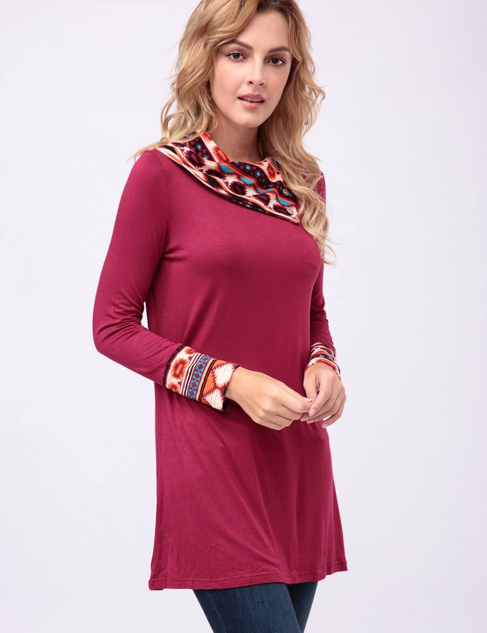 Easy tunic top is perfect for fall's weekend events