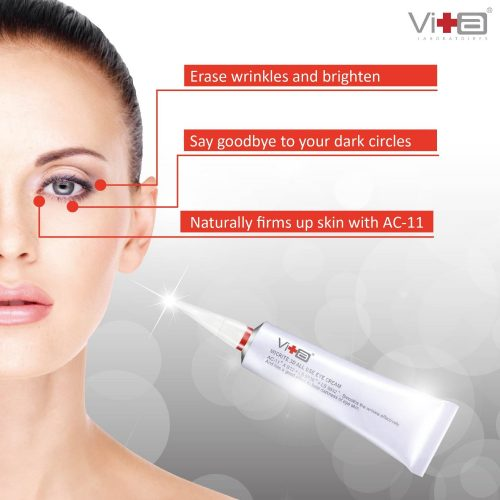 Swissvita Micrite 3D All Use Eye Cream diminishes dark circles, wrinkles, and under eye puffiness