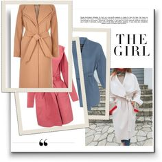 """Flattering Wrap Coats are a """"Cinch"""" for Fall Style"""