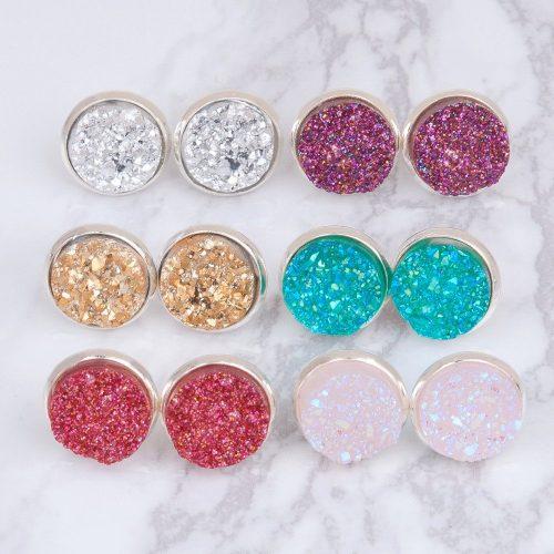 Druzy earrings from The Druzy Shop
