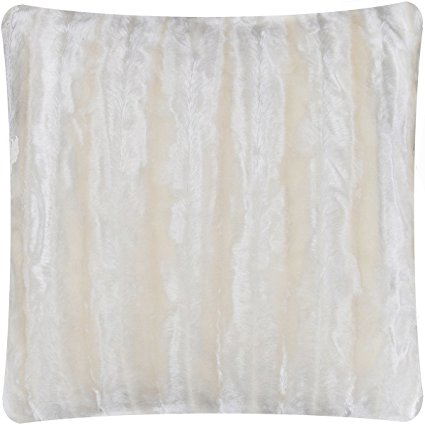 Mellanni faux fur pillow