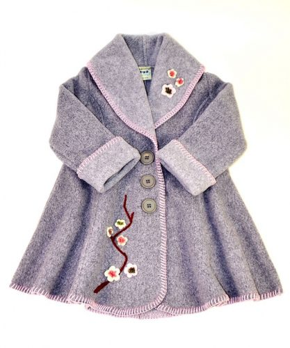 Charming coat for little girls by Tuff Kookooshka. MUST HAVE!