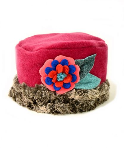 Oh-so-adorable hat for your little one from Tuff Kookooshka. LOVE it!