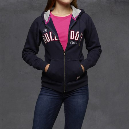 Bulldog Factory, Girls Heritage Hoodies