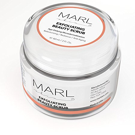 Exfoliation is easy with gentle, but effective MARLskin Microdermambraison Scrub