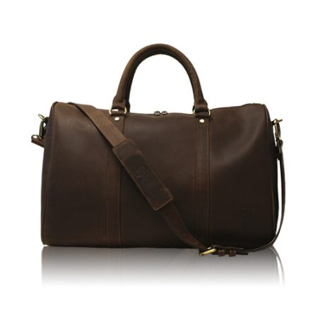 Bulldog Facory Otto Leather Bag, $150