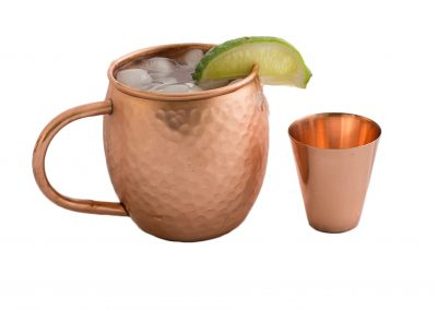 Chic spring parties start with a Moscow Mule Mug