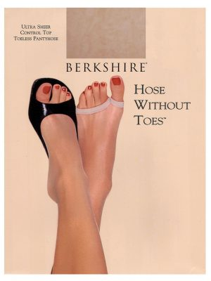 Spring summer stockings for peep toes or open toes shoes from Berkshire Hosiery. $7.95