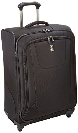 Travel essentials inlclude this MaxLite3 luggage with easy spinners. Just over 10 pounds!