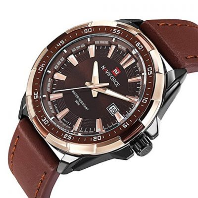 Sport watch: Father's Day gift ideas, leather banded sport watch is beautiful and affordable