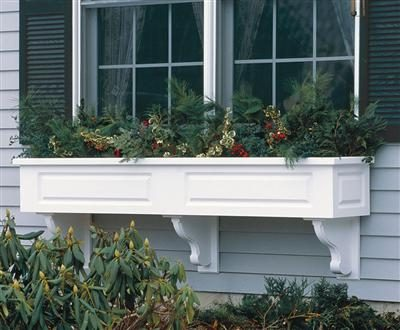 Cottage Garden Style: Add Estate Window Boxes by Walpole Woodworkers