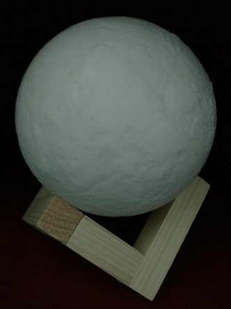 Apollo Box Moon Light is a clever accent piece or night light
