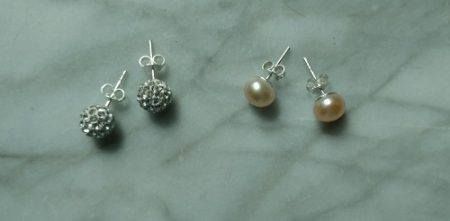 Giveway! Win TWO pairs of elegant stud earrings at Susan Said... WHAT?! Ends 9-15-2017