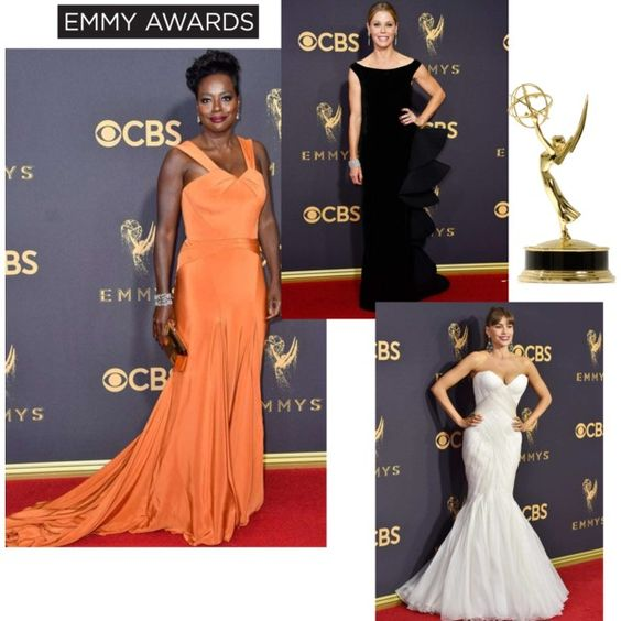 This Emmy Awards Best Dressed List includes elegant evening dresses that, while beautiful, were selected to allow the woman to shine... not the sequins.