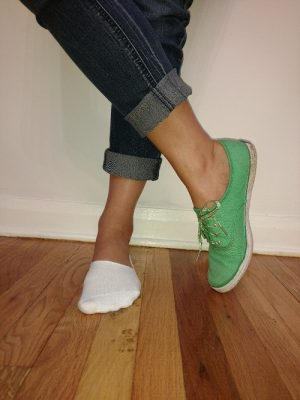Low cut, no show socks make fall's cute shoes look even better!
