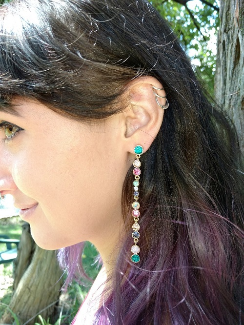 How to rock the one earring trend