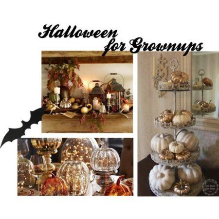 Halloween decor for grownups