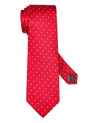 Find it at Jacamo! The Kensington tie in red offers traditional styling, but bold color. Silk. Dry clean only.