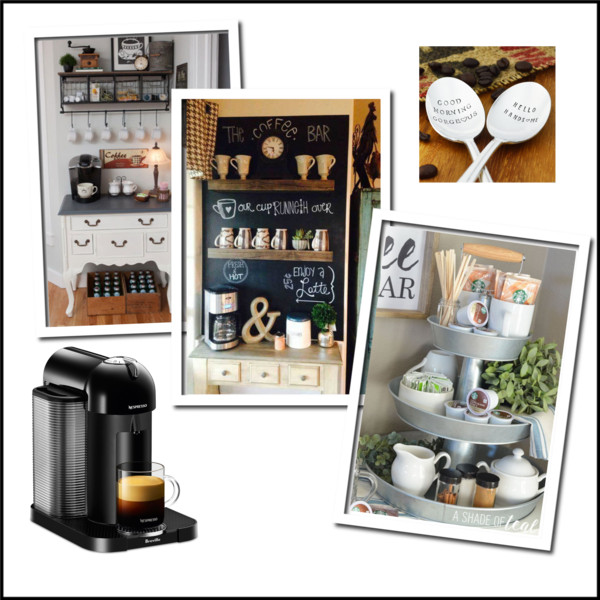 ow to create a coffee station that will become your kitchen's focal point